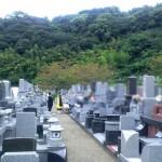 お墓へのご納骨法要【福岡市西区西部霊園において】