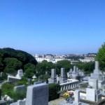 秋分の日。お彼岸の平尾霊園に【お墓の引越し、お墓じまいのご相談など】