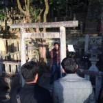 坂本竜馬さんのお墓がある、霊山墓地(りょうぜんぼち) 京都市霊山護国神社