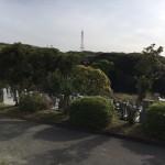 福岡市営平尾霊園にて、お墓じまいの為の現地確認を行いました。