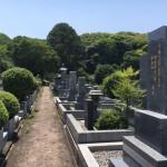 福岡市南区にある福岡市営平尾霊園でのお墓確認です。