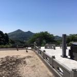 新宮霊園でお墓の現地ご案内をしました。
