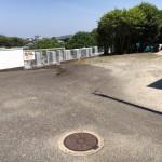 福岡市東区香椎3丁目の地域墓地へ、施工前の最終打ち合わせに。