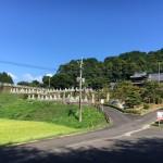 古賀市にある寺院墓地医王寺さんにやってきました
