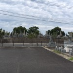 福岡県豊前市の地域墓地を確認しました