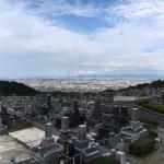 福岡市営西部霊園で追加彫刻の為の拓本作業を行いました