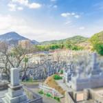 北九州市営の谷口霊園へ現地確認に。当日はとても良い天気でした!