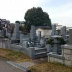 福岡市南区「平尾霊園」にお墓の解体工事にきました。