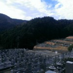 福岡市西区の民間霊園に追加彫刻のための現地確認にやってきました。