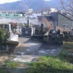 糟屋郡須恵町にある地域墓地に現地確認にやってきました。