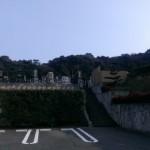 糟屋郡篠栗町にある極楽霊苑に現地打ち合せへ。