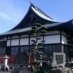 糟屋郡志免町 洞清寺さまへ打ち合せに行ってきました。