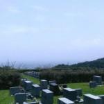 西部霊園のお墓へ、納骨と彫刻の打合せに