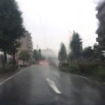 突然の大雨!もうすぐ梅雨明け??【福岡市博多区】