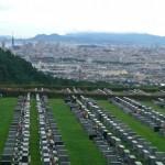 福岡市西部霊園に洋型墓石が完成【お客様へのお引渡し】