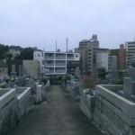 福岡市南区野間にある地域墓地にやってきました。