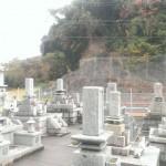 福岡県中間市の地域墓地にやってきました。