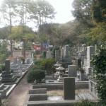 福岡市平尾霊園 神道のお墓の文字彫刻の準備に。