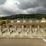 糟屋郡篠栗町篠栗霊園にてお墓の見学。