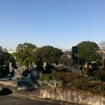 福岡市南区の福岡市営平尾霊園で墓地の確認です。