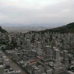 福岡市営西部霊園に納骨のお手伝いにやってきました。