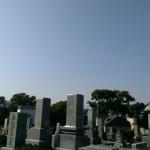 もうすぐ完成!福岡市南区野間の地域墓地にて