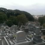 平尾霊園にてお墓のリフォーム、雑草対策。お引渡し後の現場確認