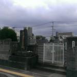 福岡市南区にある地域墓地にきました。