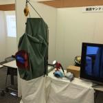 お墓の技術、施工方法も、日々進化しています!日本石材産業協会の展示会にて