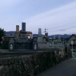 糟屋郡須恵町の地域墓地で、お墓修繕のお打ち合わせです。