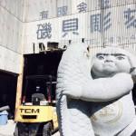 愛知県岡崎市に研修へ 素敵な石の彫刻 磯貝彫刻様