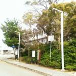 古賀市にて慰霊碑クリーニングの為の現地確認を行いました。