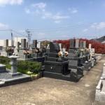 糟屋郡須恵町の地域墓地に、追加文字彫刻の為の、現地確認を行いました。