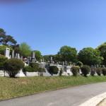 福岡市南区、福岡市営平尾霊園にて現地確認を行いました。