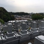福岡市東区にある地域墓地にお墓修繕の為の現地確認にやってきました。