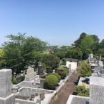 お引渡しの為、福岡市営平尾霊園にやってきました。