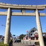 宗像大社の鳥居、手水鉢、橋の欄干・・・とても素敵です!