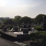 福岡市営平尾霊園に現地確認にやってきました。