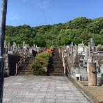 お墓じまいのご相談を頂き、福岡市営三日月山霊園にやってきました