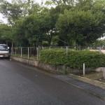 お墓修繕工事のため、福岡市南区の地域墓地にやってきました。