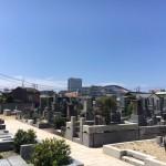 福岡市中央区の寺院墓地にてお墓じまいの準備を行いました