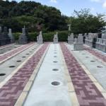 糟屋郡須恵町にある博多霊苑でのお墓新設工事でした