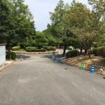 福岡市営平尾霊園でのお墓工事でした