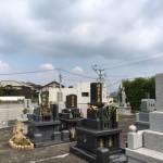糟屋郡須恵町にある地域墓地で納骨式を行いました