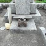 糟屋郡須恵町の地域墓地でお墓修繕作業を行いました
