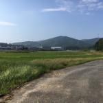 福岡県宮若市の地域墓地に現地の確認でやってきました
