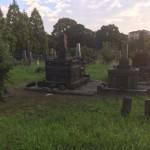 福岡県大牟田市の地域墓地にやってきました