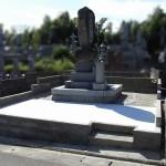 田川市の地域墓地にて、雑草が生えない工事、開放的な明るいお墓リフォームが完成。