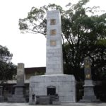 古賀市で、遺族会の皆様より忠霊塔記念碑のクリーニングをご依頼いただきました。足場を組んでの高所作業、ホームページをご覧になってのお問い合わせ