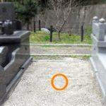 福岡市営三日月山霊園にて、14年前に建てられたお墓のお墓じまい・墓石の解体処分を行いました。